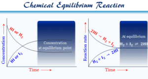 Chemical equilibrium definition, types, examples of the reversible, irreversible, exothermic and endothermic reaction