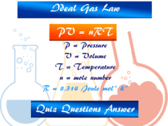 Ideal gas law quiz problems solutions