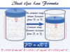 Ideal gas law formula or equation derivation in chemistry or physics
