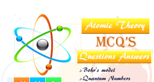 Atomic Theory and Structure MCQ Question Answer