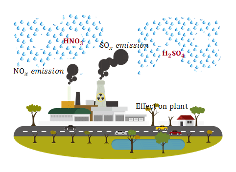 Acid rain formation information and courses to effects our environmental climate change