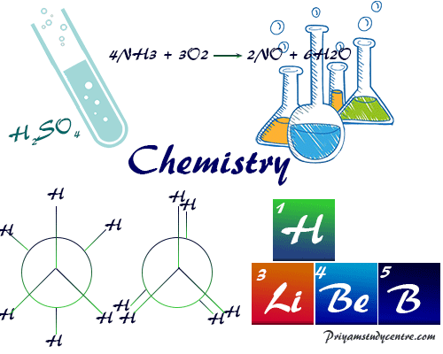 Chemistry (physical, inorganic, organic, analytical) in pure science deals with chemical properties reactions composition of atom or molecule of matter