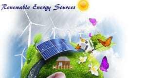 Renewable or alternative energy comes from sources like sunlight, wind, hydroelectric, geothermal, biomass are naturally replenished on a human timescale