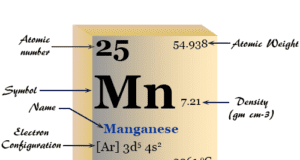 Manganese (Mn), chemical element of Group 7 (VIIB) of the periodic table properties and uses of metal in steel production