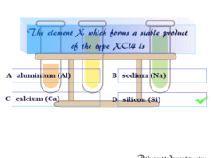 Online Chemistry Quiz 1 for school college exams
